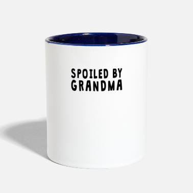 Grandma Spoiled By Grandma - Contrast Coffee Mug