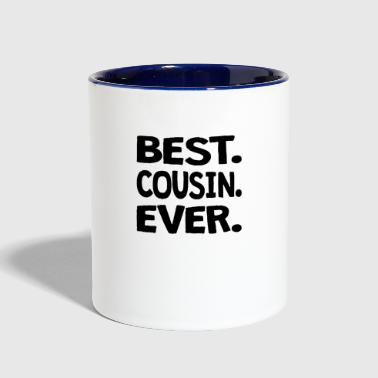Best. Cousin. Ever. - Contrast Coffee Mug