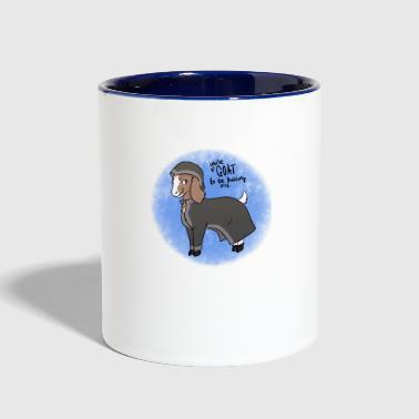 Magical The Goat - Contrast Coffee Mug