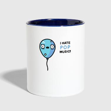 Pop music - Contrast Coffee Mug