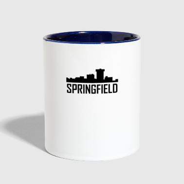 Springfield Missouri City Skyline - Contrast Coffee Mug