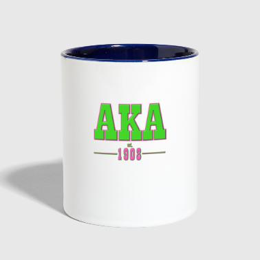 AKA Traditional 2 - Contrast Coffee Mug