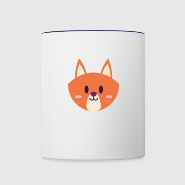 Baby Chipmunk - Contrast Coffee Mug