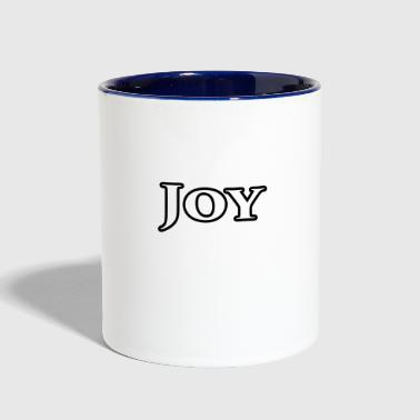 Joy Joy - Contrast Coffee Mug