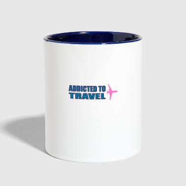 travel - Contrast Coffee Mug