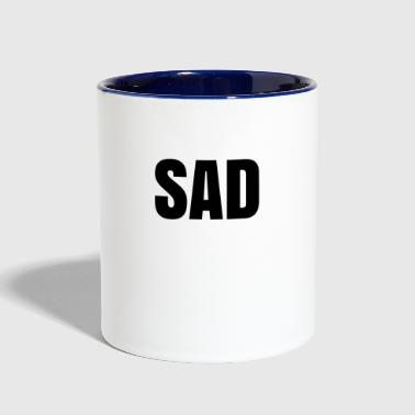 Sad - Contrast Coffee Mug
