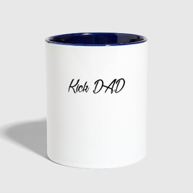 Kick DAD - Contrast Coffee Mug