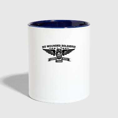 No Wounded Soldiers - Contrast Coffee Mug