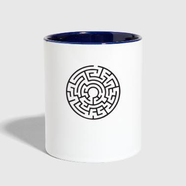 Labyrinth - Contrast Coffee Mug