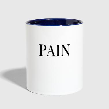 PAIN - Contrast Coffee Mug