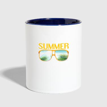 summer - Summer - Contrast Coffee Mug