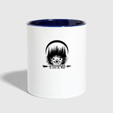 Be Hedgehog - Contrast Coffee Mug