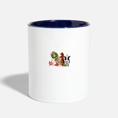 Chinese Zodiac Sign Chinese star signs! Zodiac - Two-Tone Mug