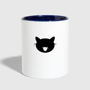 Cat Cat Cat - Contrast Coffee Mug