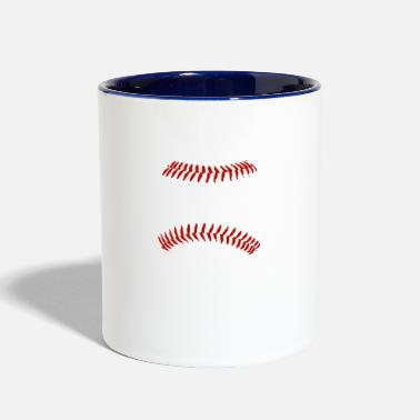 Baseball There s No Crying In Baseball - Two-Tone Mug
