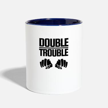 Double Trouble Double Trouble - Two-Tone Mug