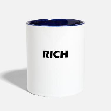 Rich rich - Contrast Coffee Mug