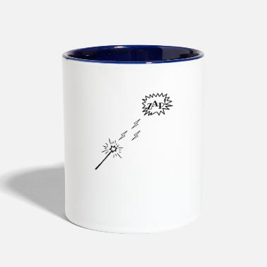Perform Magic Magic Wand Performing Magic - Two-Tone Mug