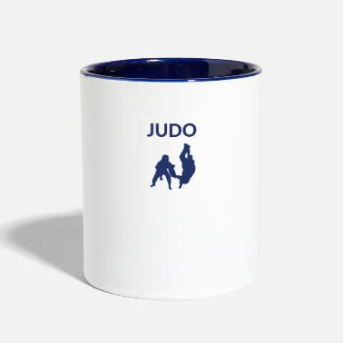 Judo Martial Art - Judo Throw - Two-Tone Mug