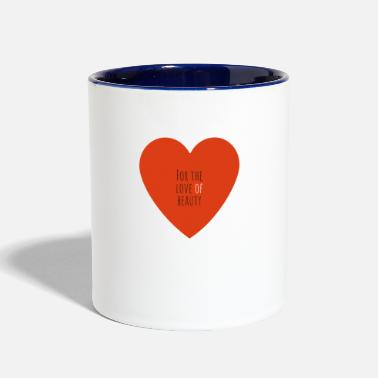 Sterren For The Love Of Beauty - Two-Tone Mug