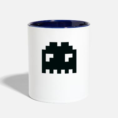 Space invader T shirt - Contrast Coffee Mug