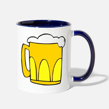 Of Beer beer - Two-Tone Mug