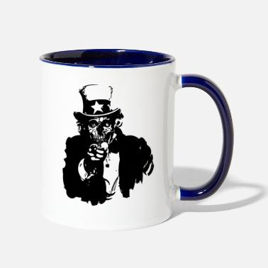 Corpse Uncle Corpse - Two-Tone Mug