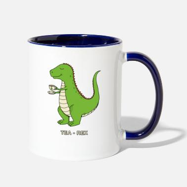 Tea TEA REX - Contrast Coffee Mug