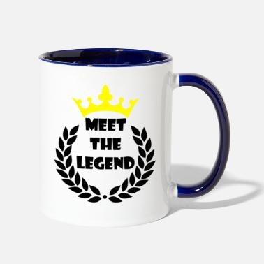 Meeting Meet the Legend - Contrast Coffee Mug