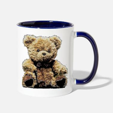 Stuffed Animal Bear Stuffed animal Teddy bear Fur Animal - Contrast Coffee Mug