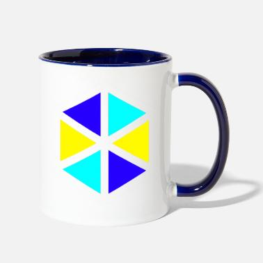 Triangle TRIANGLE - Two-Tone Mug
