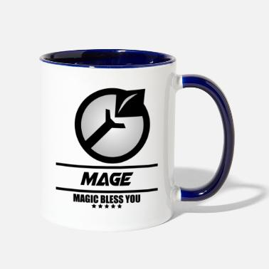 Mobile LOGO ML MAGE - Two-Tone Mug