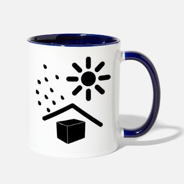 Weather weathered - Two-Tone Mug