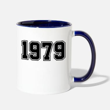 Year Of Birth 1979 | Year of Birth | Birth Year | Birthday - Two-Tone Mug