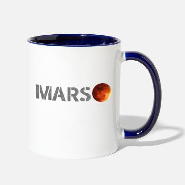Occupy occupy mars - Contrast Coffee Mug