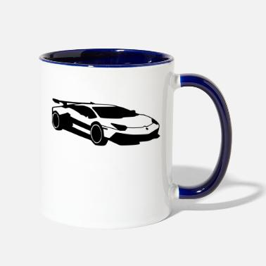 Renner Car,Renner,Sportscar,Vehicle,V8 ✔ - Two-Tone Mug