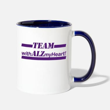 Large Extra Large Sizes - Two-Tone Mug