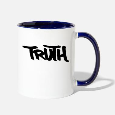 Truth Truth - Two-Tone Mug