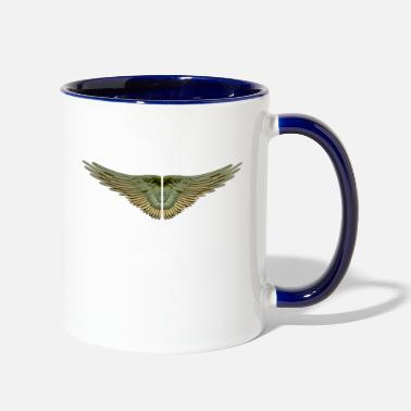 Wing wings - Contrast Coffee Mug