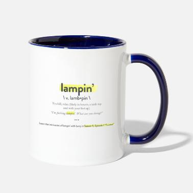 Lampin Have a Pretty Good - Two-Tone Mug