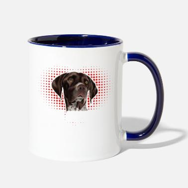 Pointer German Shorthaired Pointer Sweet Shirt - Two-Tone Mug