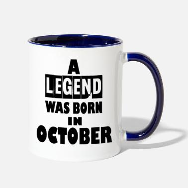 October october - Contrast Coffee Mug