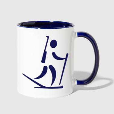 Biathlon - Contrast Coffee Mug