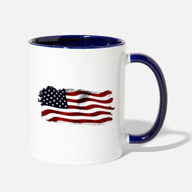 United States US Homeland - Two-Tone Mug