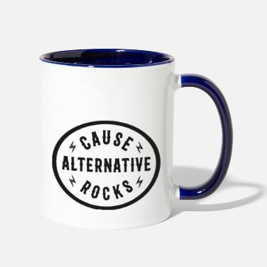 Thrash rock - Two-Tone Mug