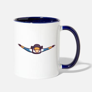 Forum Freefall - Two-Tone Mug
