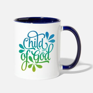 Child of God - Two-Tone Mug