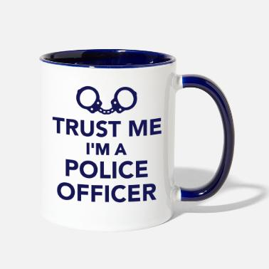 Police Police officer - Contrast Coffee Mug