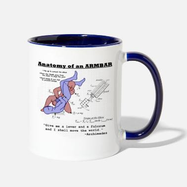 Anatomy Anatomy of an Armbar - Contrast Coffee Mug