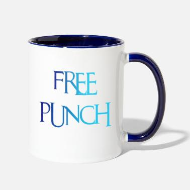 Punch free punch - Contrast Coffee Mug